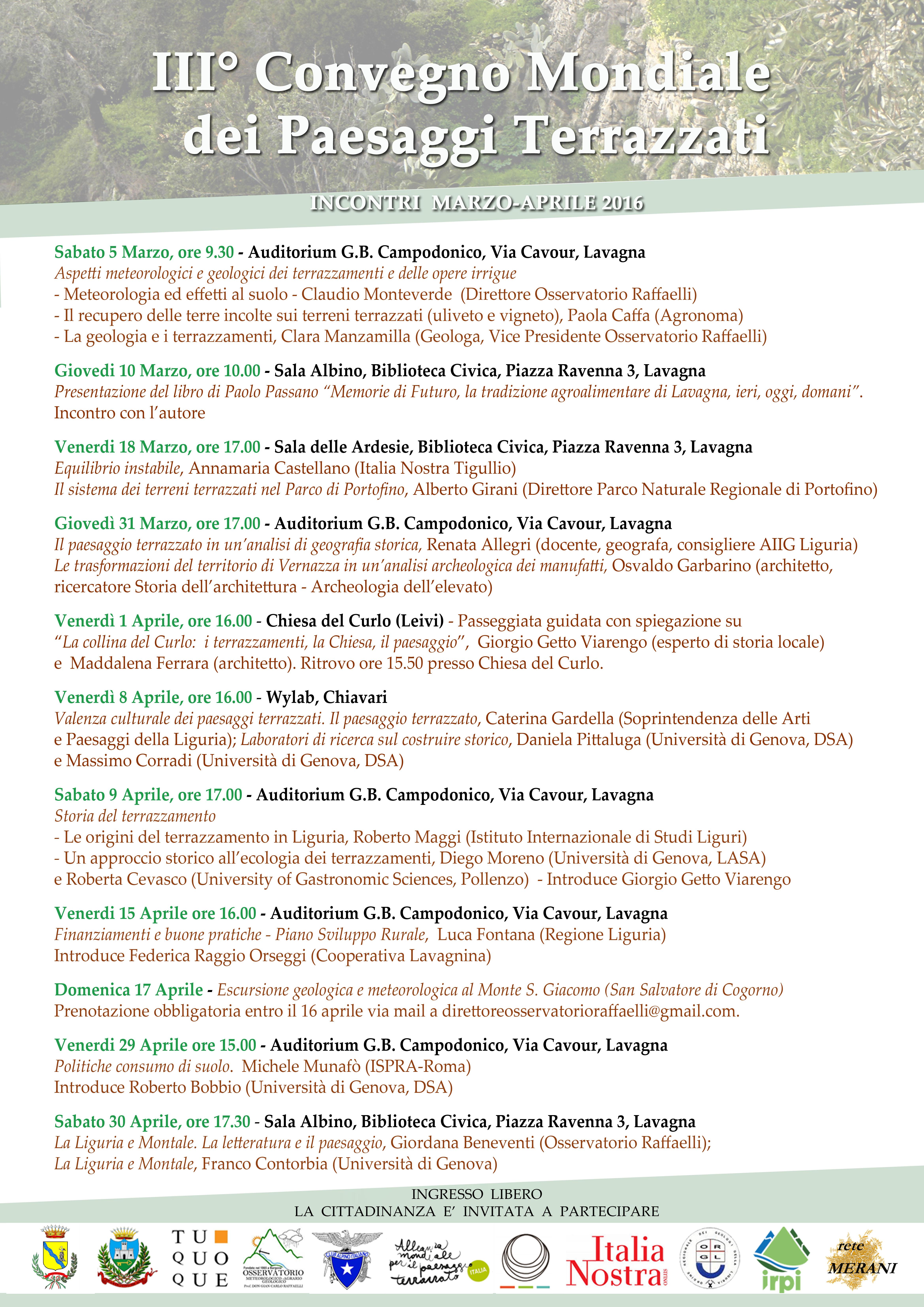 Locandina Incontri Lavagna e Chiavari(1)